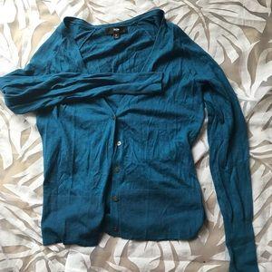 Mossimo Blue Cardigan